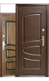 Т-817 (теплая) металлическая входная дверь