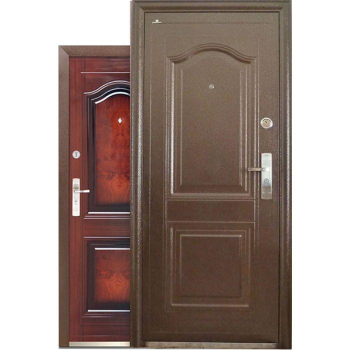 дверь металлическая входная стандартной комплектации