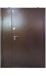 Одиссей 200 металл/металл двустворчатая металлическая входная дверь