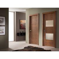 Двери из шпона: особенности надежной сборки