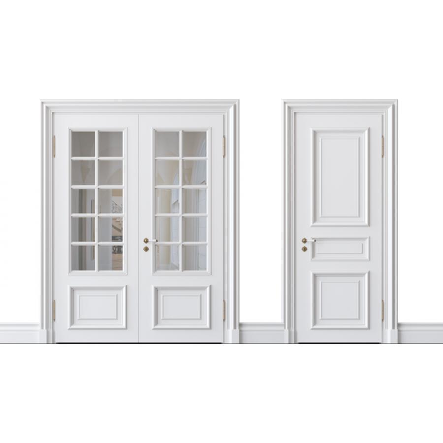 французский стиль межкомнатных дверей отличительные