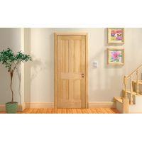 Массив сосны в качестве материала для межкомнатных дверей