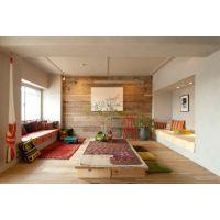 Отделка стен ламинатом – интересное дизайнерское решение